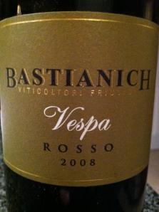 2008 Vespa Rosso