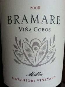 2008 Vina Cobos Bramare Malbec